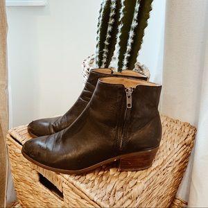 J Crew Italian Leather Boots